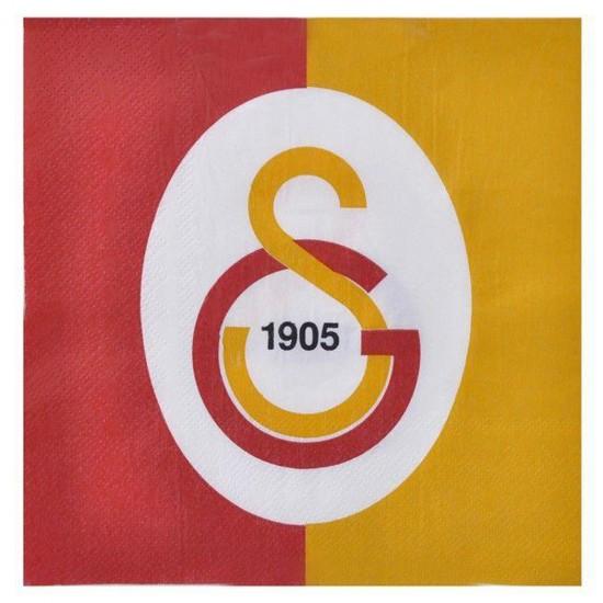 Galatasaray Temalı Taraftar Kağıt Peçete 33*33 (16 Adet)