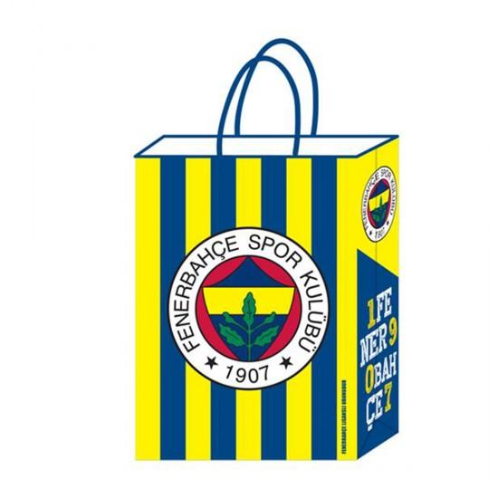 Fenerbahçe Temal Kağıt Parti Çantası Taraftar 18X24 (12 Adet)