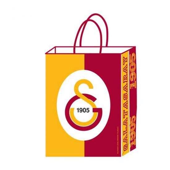 Galatasaray Temalı Kağıt Parti Çantası Taraftar 18X24 (12 Adet)