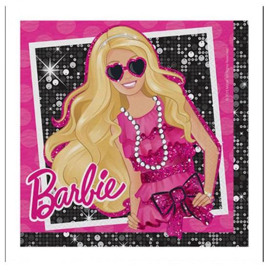 Barbie Klasik Temalı Kağıt Peçete 33*33 (16 Adet)