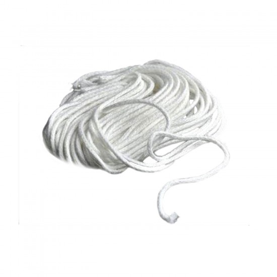 Kandil Fitili 16 Numara  Pamuk Beyaz Fitil (1 Metre)