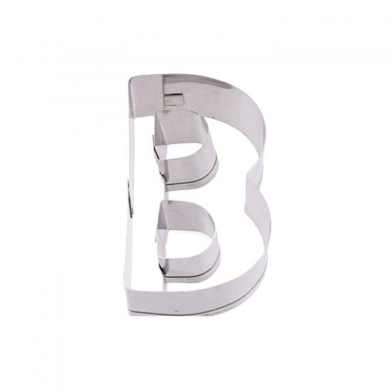 Kek Kurabiye Ve Pasta Kalıbı Metal Harf  Büyük Boy Alfabe 8.5 CM