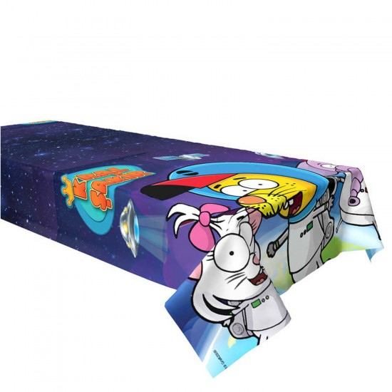 Kral Şakir Uzayda Plastik Masa Örtüsü 120x180 CM