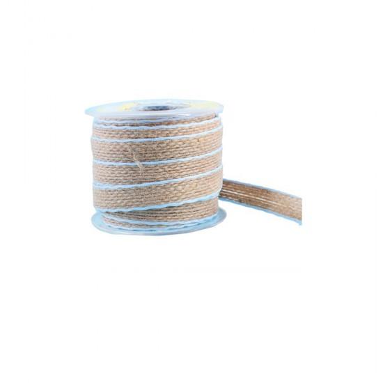 Kanaviçe Kurdele Kenarı Şeritli 1.6 Cm (10 Metre)