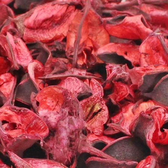 Kurutulmuş Çiçek Yapraklar Masa Süsü Koku İçin 150 Gr