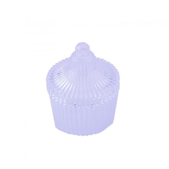 Akrilik Kutu Kubbeli Model Şeffaf (10 Adet)