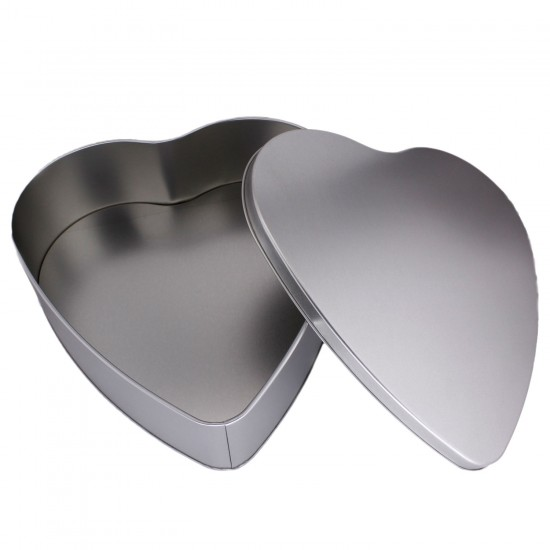 Kutu Teneke Bal Ve Şeker Kutusu Kalp Modeli