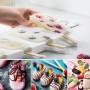 Magnum Şekilli Silikon Dondurma Tatlı Meybuz Kalıbı 8'li