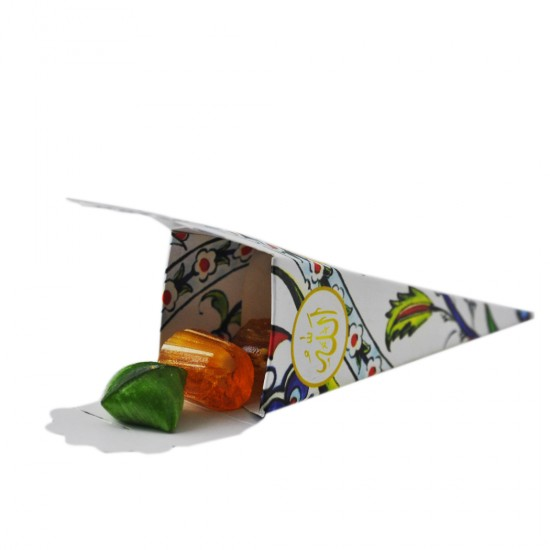 Meyve Aromalı Karışık Renkli Akide Şekeri 500 Gr