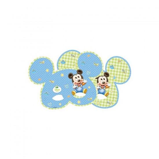Mickey Mause Disney Baby Temalı Maske (6 Adet)