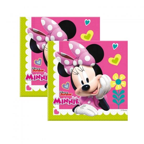 Minnie Mause Happy Helpers Temalı Kağıt Peçete (20 Adet)