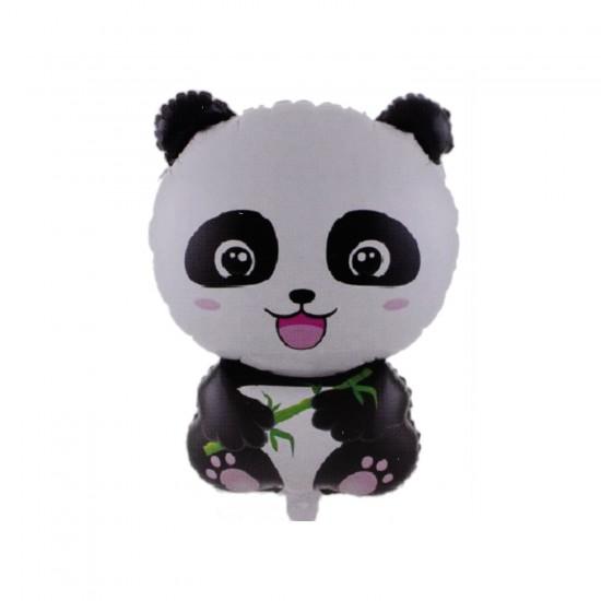 Panda Temalı Baskılı Folyo Balon 68 CM