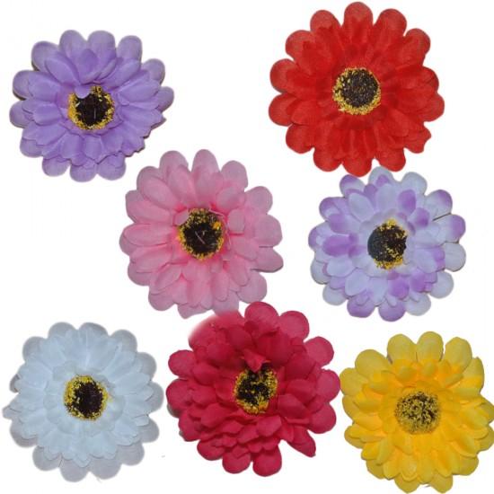 Yapay Çiçek Papatya Modeli Sapsız (20 Adet)
