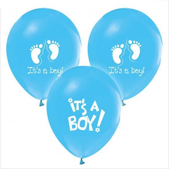 Balon ItS A Girl ItS A Boy Baskılı  (20 Adet)