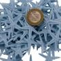 Polyester Deniz Yıldızı Minik Boy  1.5 Cm -3 Cm (100 Adet)