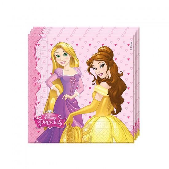 Prenses Dreamıng Temalı Kağıt Peçete 33X33 CM (20 Adet)