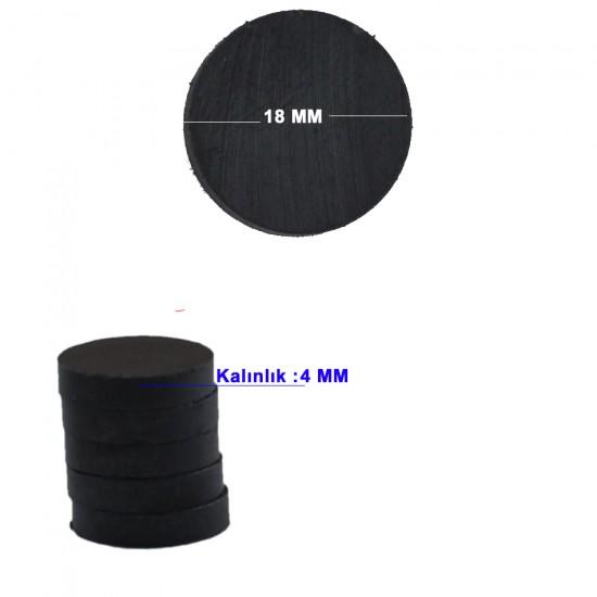 Mıknatıs Siyah Büyük (50 Adet)