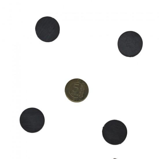 Mıknatıs Siyah Büyük İnce (70 Adet)