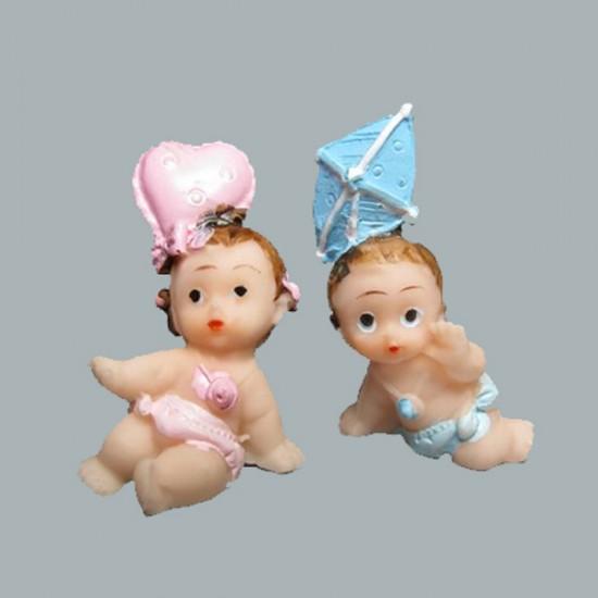 Bebek Şekeri Biblosu Ucurtma Ve Kalpli (50 Adet)