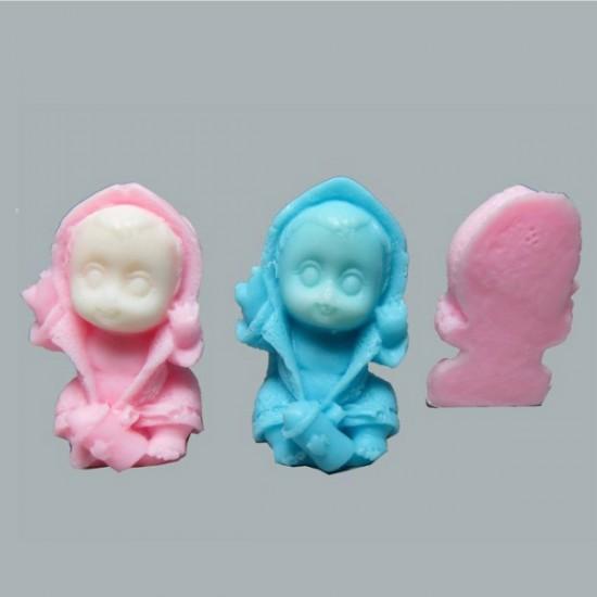 Sabun Bebek Bornozlu Yarım (50 Adet)