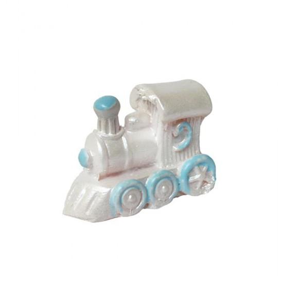Tren Polyester Bebek Şekeri Biblosu (50 Adet)