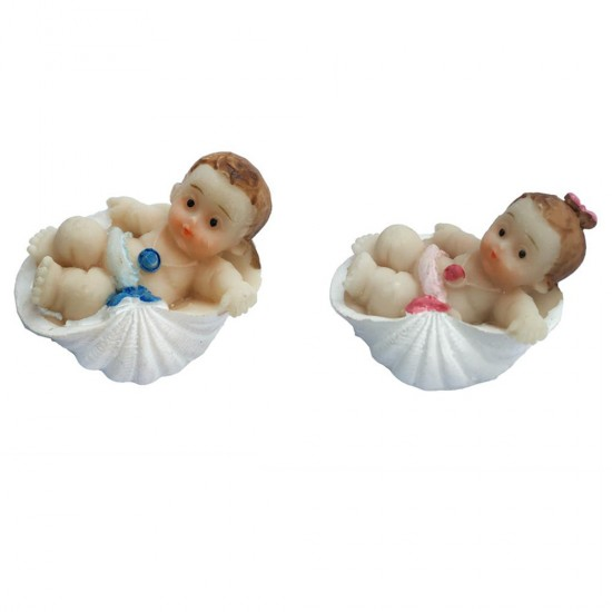 Bebek Şekeri Biblosu Bebek İstiridye İçinde Yatan (50 Adet)