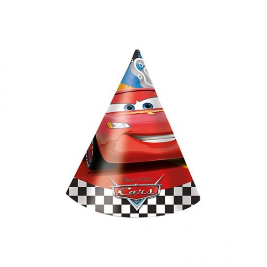 Cars Formula Külah Şapka (6 Adet)