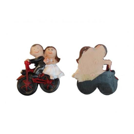 Gelin Damat Kırmızı Ve Siyah Motorsikletli (20 Adet)