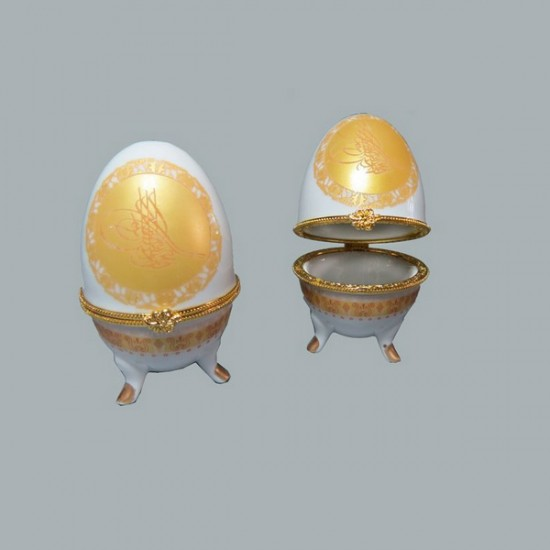 Yumurta Seramik Tuğralı (10 Adet)