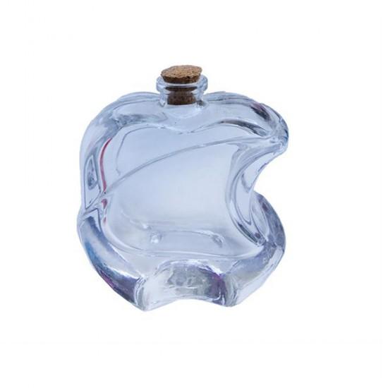 Şişe Cam Mantar Tıpalı Apple Modeli 35 CC (20 Adet)
