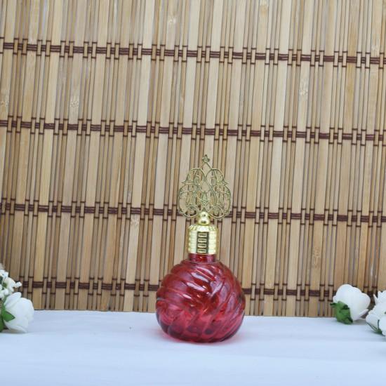 Şişe Cam Metal Altın Kubbeli Balon Modeli Komple Renkli (10 Adet)