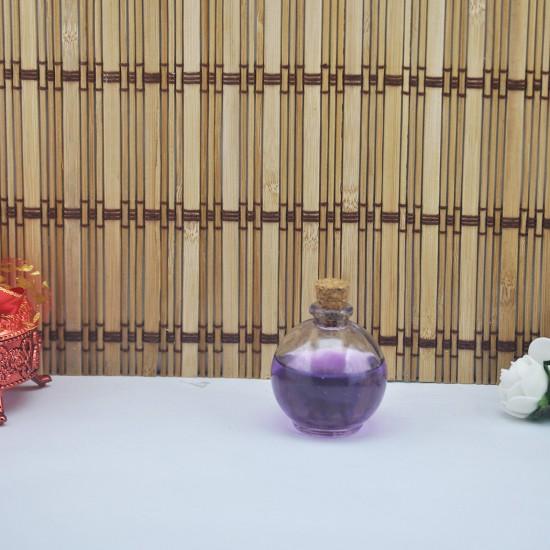 Şişe Cam Mantar Tıpalı Balon Modeli 45 Cc (10 Adet)