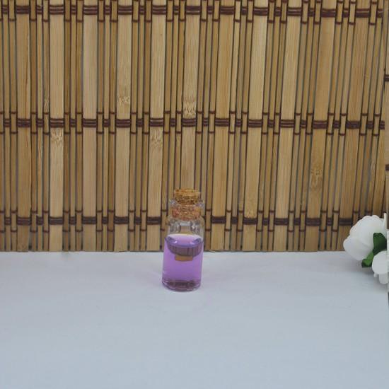 Şişe Cam Mantar Tıpalı Küçük 15 Cc (50 Adet)