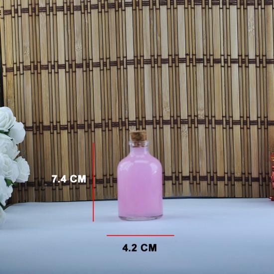 Şişe Cam Mantar Tıpalı Orta 50 Cc (50 Adet)