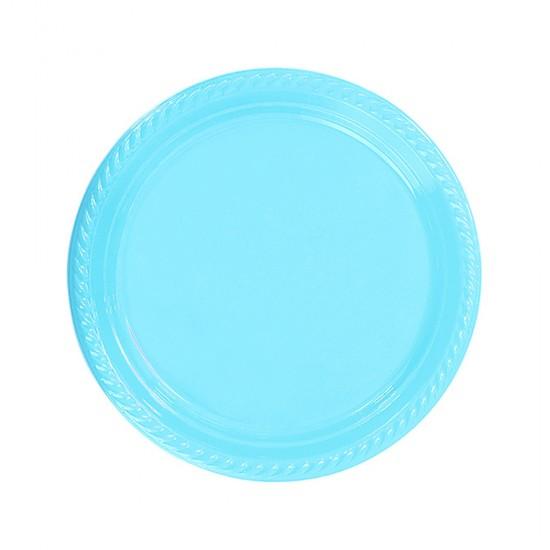Tabak Plastik 22 Cm (25 Adet)