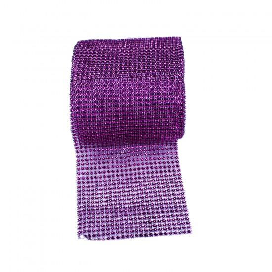 Taş Görünümlü Plastik Şerit Renkli 14 Cm (9 Metre)