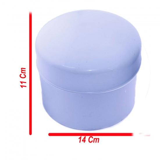 Tesbih Kutusu Yuvarlak Büyük Boy Plastik (11 CM X14 CM)