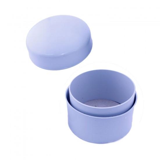 Tesbih Kutusu Yuvarlak Küçük Boy Plastik (9,5CM X 10,5 CM)