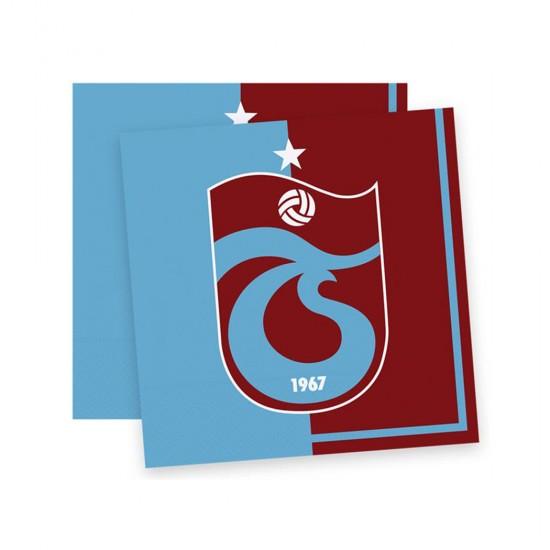 Trabzonspor Temalı Taraftar Kağıt Peçete 33*33 (16 Adet)