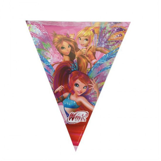 Winx Butterflix Temalı Üçgen Bayrak Set