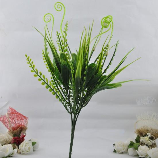 Yapay Çiçek Demeti Bitki Deniz Atlı Modeli