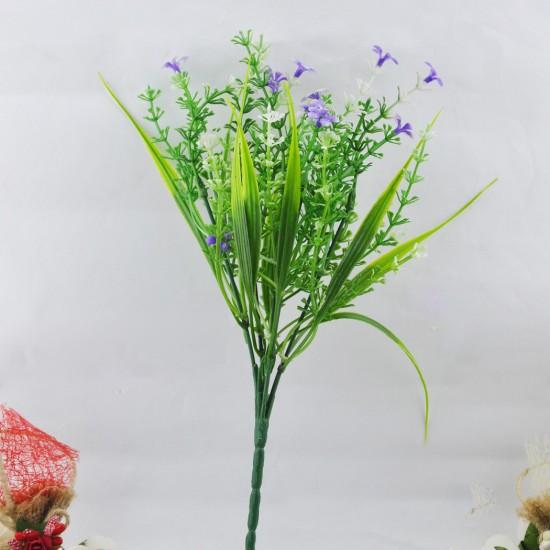 Yapay Çiçek Demeti Çiçekli Model 6 Renkli