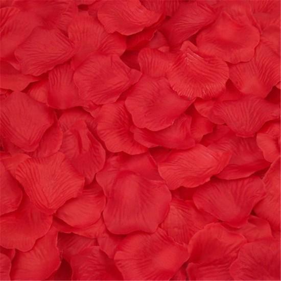 Yapay Kırmızı Gül Yaprağı 100 Gr