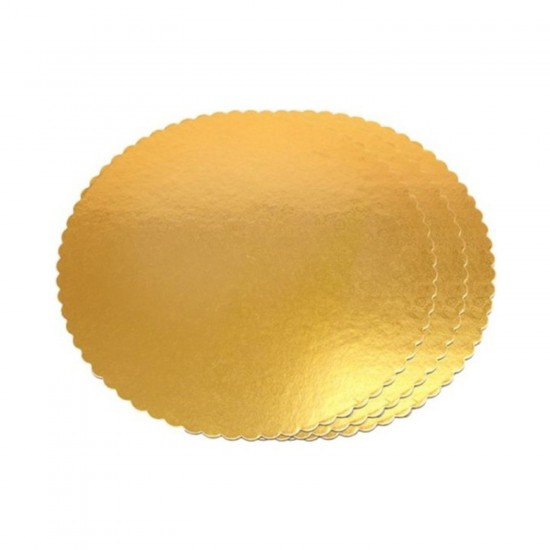 Yuvarlak Karton Pasta Altlığı  30 CM  (3 Adet)