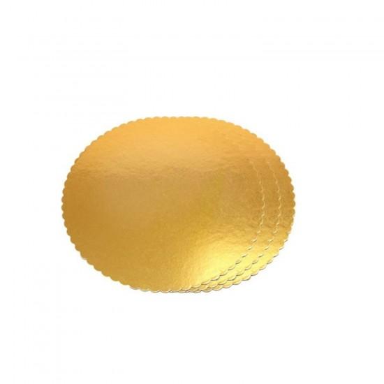 Yuvarlak Karton Pasta Altlığı  33 CM  (3 Adet)