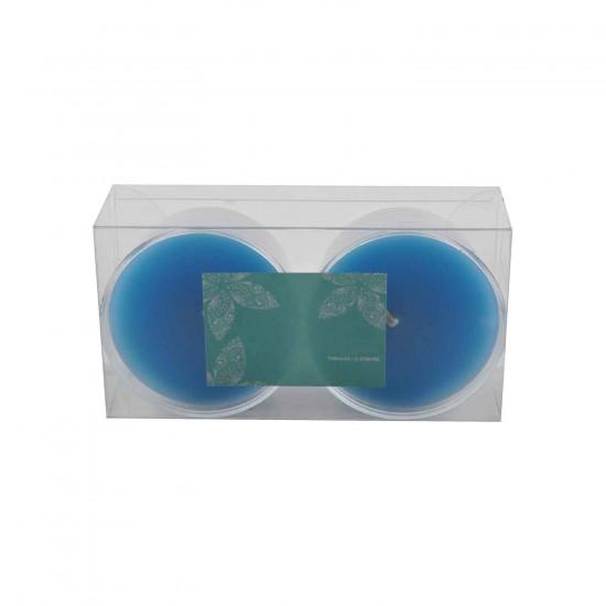Kapsül Mum 3x5.5 CM  İkili  Akrilik Kapsül