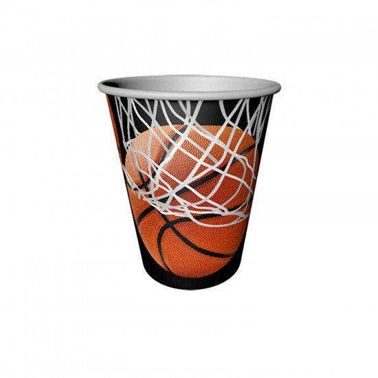 Karton Bardak Basketbol Temalı 220CC  (8 Adet)