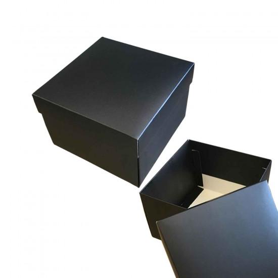 Komple Karton Kutu Düz Renk 15X15X10 CM  10 Adet