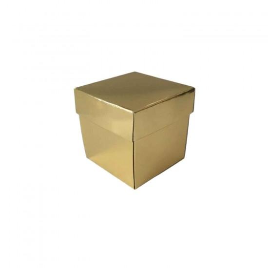 Komple Karton Kutu Düz Renk 6X6X6 CM (25 Adet)