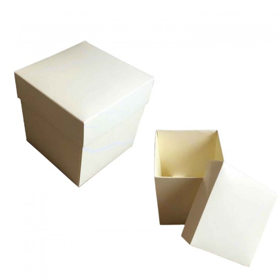 Komple Karton Kutu Mermer Desenli  10X10X10 (10 Adet )